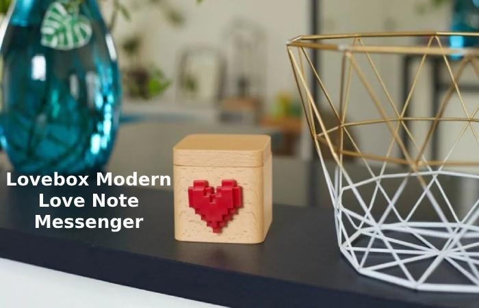 cool gadgets - Lovebox Modern Love Note Messenger