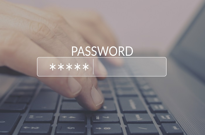 Password Box in Internet Browser - Cybercrime